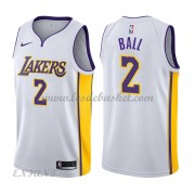 Maillot Basket Enfant Los Angeles Lakers 2018 Lonzo Ball 2# Association Edition..