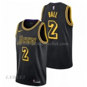 Maillot Basket Enfant Los Angeles Lakers 2018 Lonzo Ball 2# City Edition..