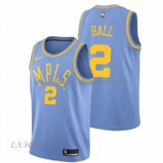 Maillot Basket Enfant Los Angeles Lakers 2018 Lonzo Ball 2# Light Blue Hardwood Classics..