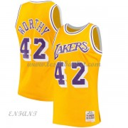 Maillot Basket Enfant Los Angeles Lakers 1984-85 James Worthy 42# Gold Hardwood Classics..
