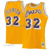 Maillot Basket Enfant Los Angeles Lakers 1984-85 Magic Johnson 32# Gold Hardwood Classics..