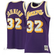 Maillot Basket Enfant Los Angeles Lakers 1984-85 Magic Johnson 32# Purple Hardwood Classics..