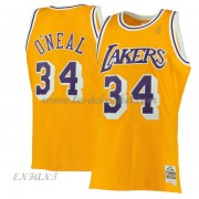 Maillot Basket Enfant Los Angeles Lakers 1996-97 Shaquille O'Neal 34# Gold Hardwood Classics..