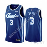 Maillot De Basket Enfant Los Angeles Lakers 2019-20 Anthony Davis 3# Bleu Classics Edition Swingman..