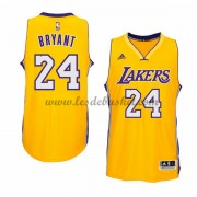 Maillot NBA Los Angeles Lakers 2015-16 Kobe Bryant 24# Gold Home