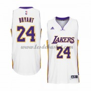 Maillot Basket NBA Los Angeles Lakers 2015-16 Kobe Bryant 24# Blanc Home..
