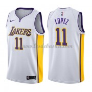 Maillot NBA Los Angeles Lakers 2018 Brook Lopez 11# Association Edition..