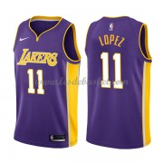 Maillot NBA Los Angeles Lakers 2018 Brook Lopez 11# Statement Edition..