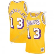 Maillot NBA Los Angeles Lakers 1971-72 Wilt Chamberlain 13# Or Hardwood Classics Swingman..