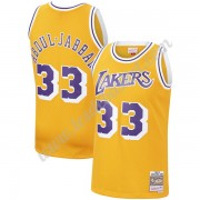 Maillot NBA Los Angeles Lakers 1984-85 Kareem Abdul-Jabbar 33# Or Hardwood Classics Swingman..