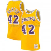 Maillot NBA Los Angeles Lakers 1984-85 James Worthy 42# Gold Hardwood Classics..