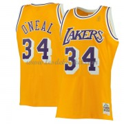 Maillot NBA Los Angeles Lakers 1996-97 Shaquille O'Neal 34# Gold Hardwood Classics..