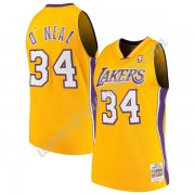 Maillot NBA Los Angeles Lakers 1999-00 Shaquille O'Neal 34# Or Hardwood Classics Swingman..