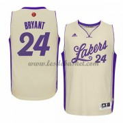 Maillot NBA Pas Cher Los Angeles Lakers Homme 2015 Kobe Bryant 24# Noël Basket..