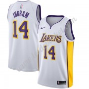 Maillot NBA Los Angeles Lakers 2019-20 Brandon Ingram 14# Blanc Association Edition Swingman..