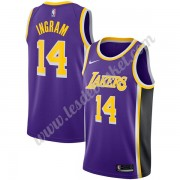 Maillot NBA Los Angeles Lakers 2019-20 Brandon Ingram 14# Violet Statement Edition Swingman
