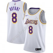 Maillot NBA Los Angeles Lakers 2019-20 Kobe Bryant 8# Blanc Association Edition Swingman