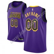 Maillot NBA Los Angeles Lakers 2019-20 Violet City Edition Swingman..