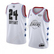 Maillot NBA Pas Cher Los Angeles Lakers 2019 Kobe Bryant 24# Blanc All Star Game Swingman..