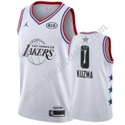 Maillot NBA Pas Cher Los Angeles Lakers 2019 Kyle Kuzma 0# Blanc All Star Game Swingman..