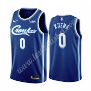 Maillot NBA Los Angeles Lakers 2019-20 Kyle Kuzma 0# Bleu Classics Edition Swingman..