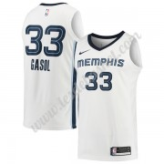 Maillot NBA Memphis Grizzlies 2018 Marc Gasol 33# Association Edition..