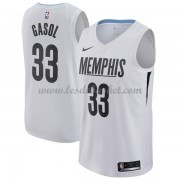 Maillot NBA Memphis Grizzlies 2018 Marc Gasol 33# City Edition..