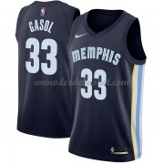 Maillot NBA Memphis Grizzlies 2018 Marc Gasol 33# Icon Edition..