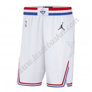 2019 Blanc All Star Game Swingman Short De Basket NBA..