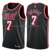 Maillot Basket Enfant Miami Heat 2018 Goran Dragic 7# Black Hardwood Classics..