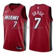 Maillot Basket Enfant Miami Heat 2018 Goran Dragic 7# Statement Edition..