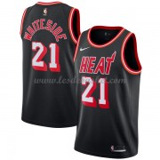 Maillot Basket Enfant Miami Heat 2018 Hassan Whiteside 21# Black Hardwood Classics..