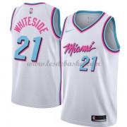 Maillot Basket Enfant Miami Heat 2018 Hassan Whiteside 21# City Edition..