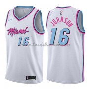 Maillot Basket Enfant Miami Heat 2018 James Johnson 16# City Edition..