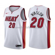 Maillot Basket Enfant Miami Heat 2018 Justise Winslow 20# Association Edition..