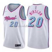 Maillot Basket Enfant Miami Heat 2018 Justise Winslow 20# City Edition..