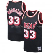 Maillot Basket Enfant Miami Heat 1996-97 Alonzo Mourning 33# Black Hardwood Classics..