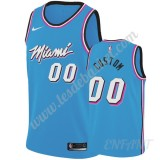 Maillot De Basket Enfant Miami Heat 2019-20 Bleu City Edition Swingman