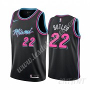 Maillot De Basket Enfant Miami Heat 2019-20 Jimmy Butler 22# Noir City Edition Swingman..