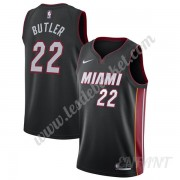 Maillot De Basket Enfant Miami Heat 2019-20 Jimmy Butler 22# Noir Icon Edition Swingman..