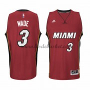 Maillot NBA Miami Heat 2015-16 Dwyane Wade 3# Alternate
