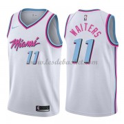 Maillot NBA Miami Heat 2018 Dion Waiters 11# City Edition..
