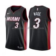 Maillot NBA Miami Heat 2018 Dwyane Wade 3# Icon Edition..