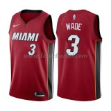 Maillot NBA Miami Heat 2018 Dwyane Wade 3# Statement Edition