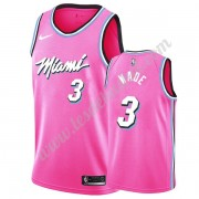 Maillot NBA Miami Heat 2019-20 Dwyane Wade 3# Rose Earned Edition Swingman..