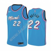 Maillot NBA Miami Heat 2019-20 Jimmy Butler 22# Bleu City Edition Swingman..