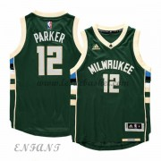 Maillot Basket Enfant Milwaukee Bucks 2015-16 Jabari Parker 12# Road..