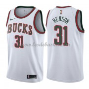 Maillot Basket Enfant Milwaukee Bucks 2018 John Henson 31# White Hardwood Classics..