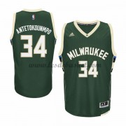 Maillot NBA Milwaukee Bucks 2015-16 Giannis Antetokounmp 34# Road..