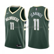 Maillot NBA Milwaukee Bucks 2018 Brandon Jennings 11# Icon Edition..